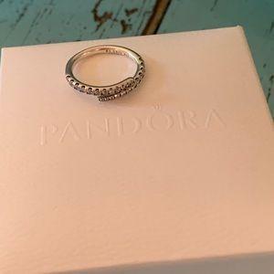 Pandora sterling wrap ring Size 7